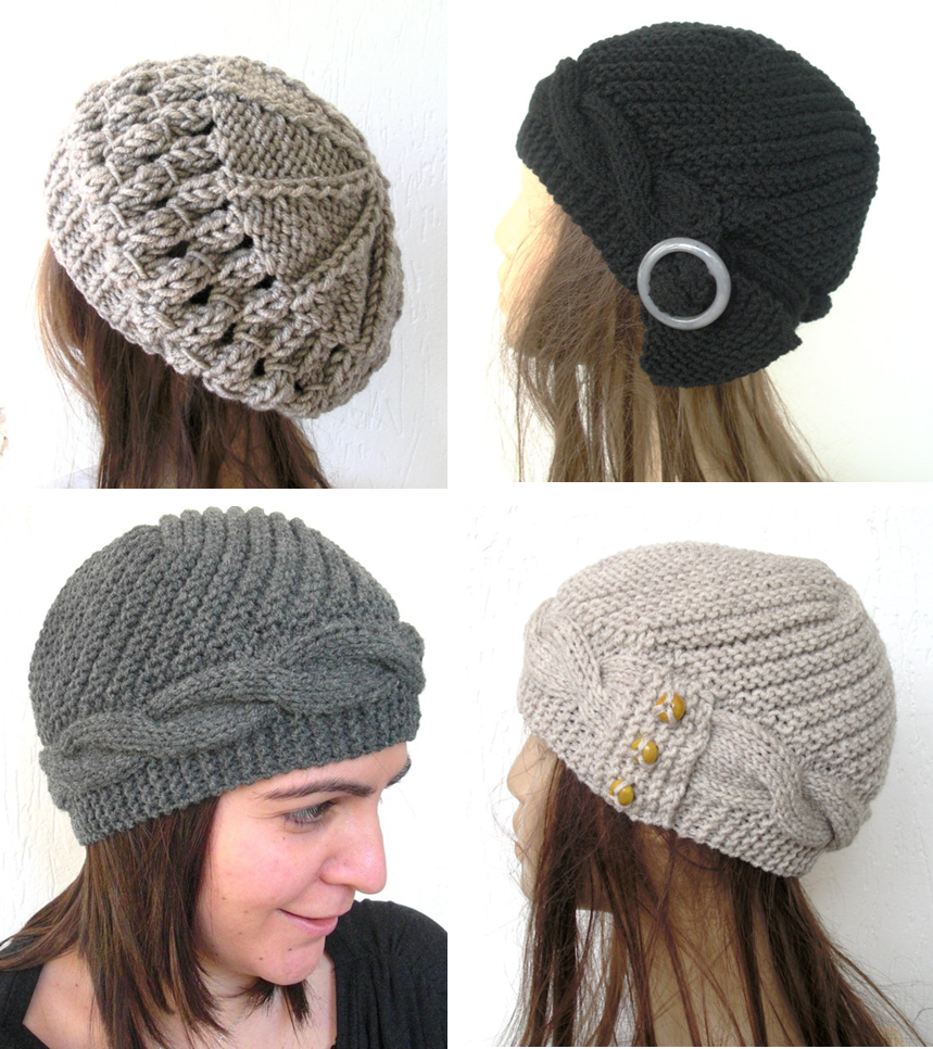 Hand Knitted Hat Patterns : Fall Accessories with Wanelo and Etsy Magnify Your Stlye