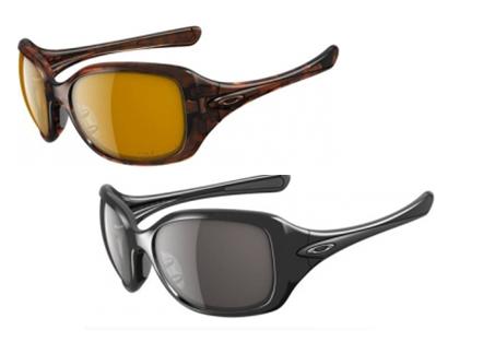 ladies oakley sunglasses  Oakley Bronze Polarized Necessity Ladies Sunglasses
