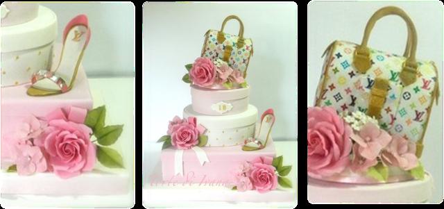 Louis Vuitton 18th Birthday Cake on CakeDecor