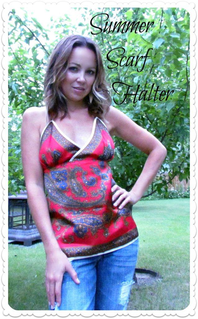 Summer Scarf Halter