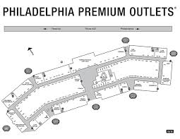 premium outlet map